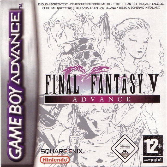 Final Fantasy V Advance Rom Gameboy Advance Gba Emulator Games