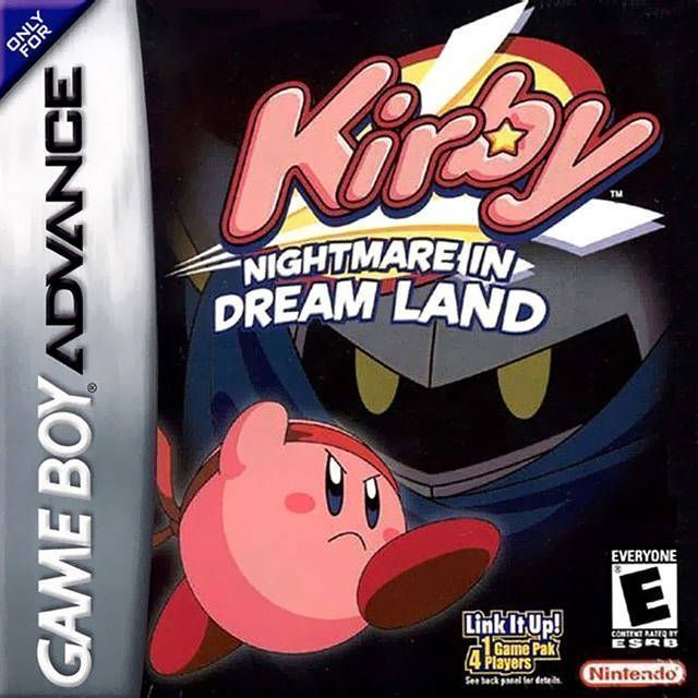 Kirby - Nightmare In Dreamland ROM - Gameboy Advance (GBA