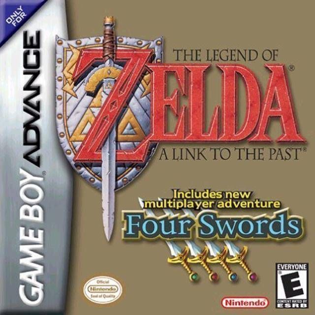 Legend Of Zelda The A Link To The Past Four Swords Rom Gameboy