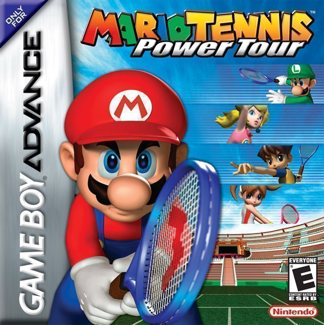Mario Tennis Advance Power Tour Rom Gameboy Advance Gba