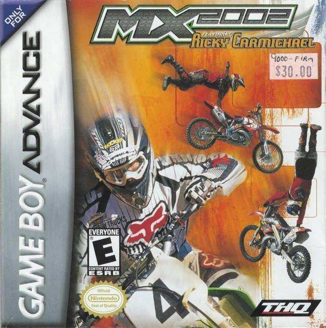 MX 2K2 Ricky Carmichael