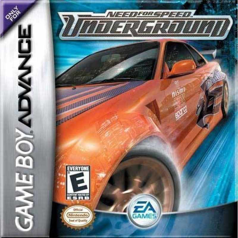 Need For Speed - Underground 2 ROM - Gameboy Advance (GBA