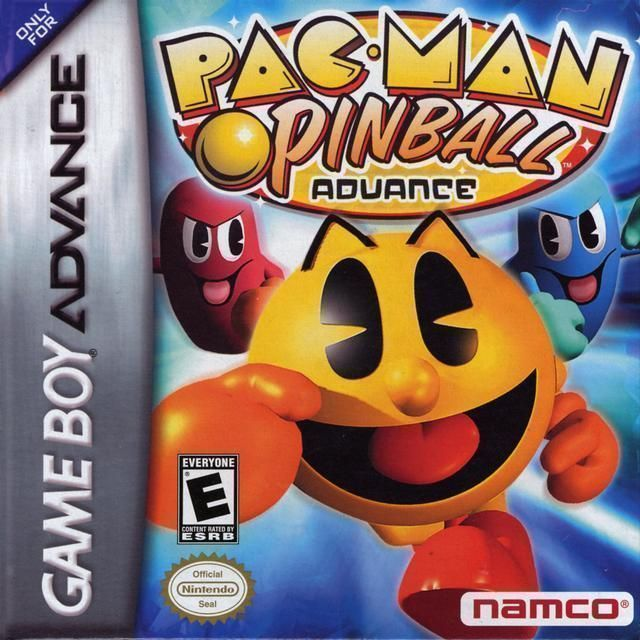 Pac-Man Pinball Advance ROM - Gameboy Advance (GBA