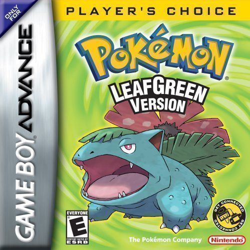 Pokemon Leaf Green Version V1 1 Rom Gameboy Advance Gba