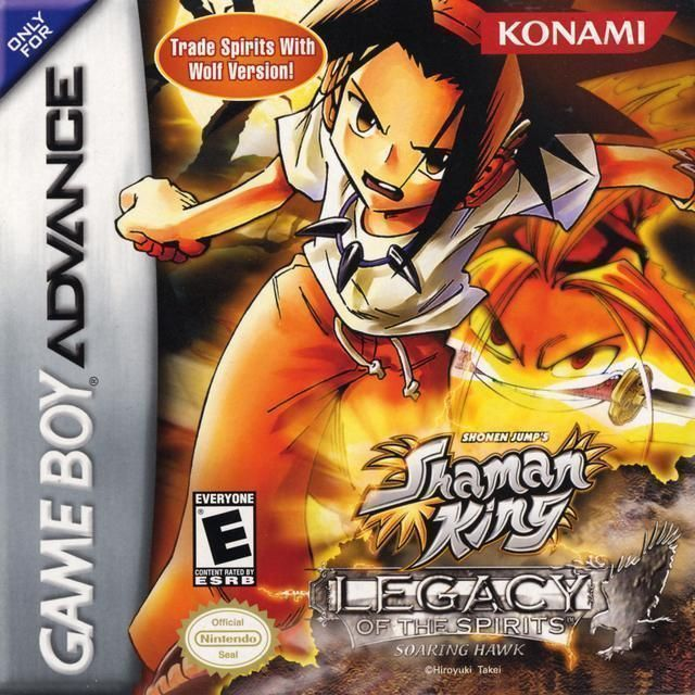 Shaman king master of spirits 2 rom gameboy advance (gba.