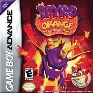 Spyro Orange - The Cortex Conspiracy ROM - Gameboy Advance