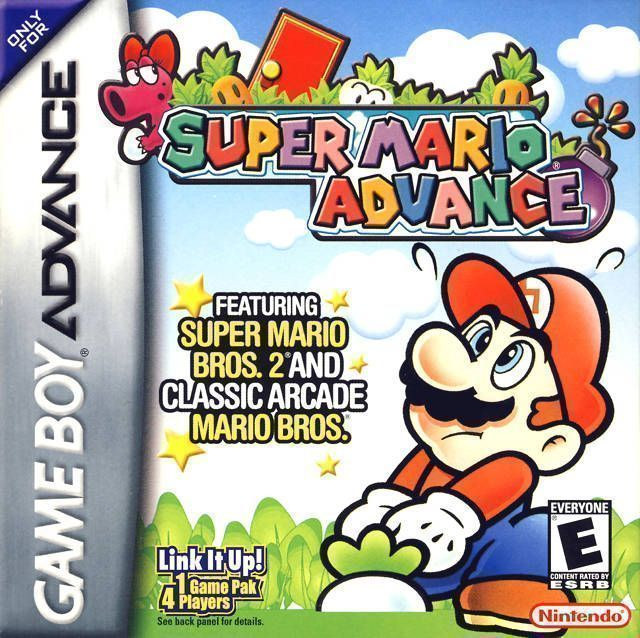 Super Mario Advance Rom Gameboy Advance Gba Emulator Games