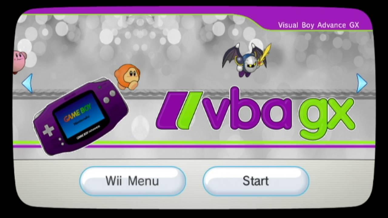 gba emulator for wii