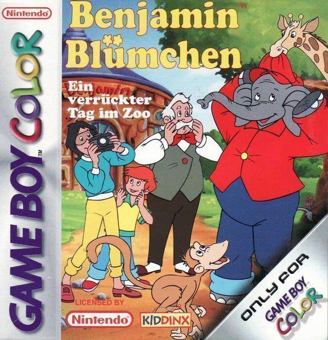 Benjamin Bluemchen - Ein Verrueckter Tag Im Zoo