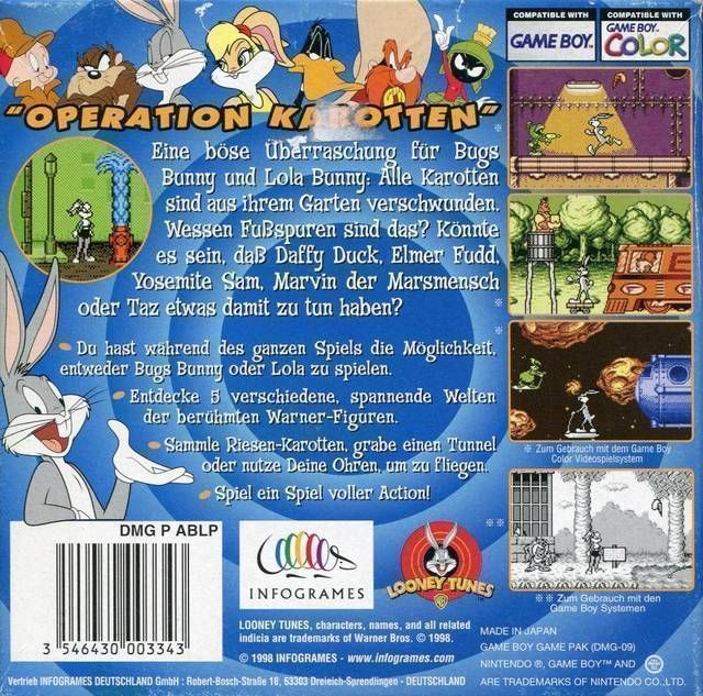 Bugs Bunny & Lola Bunny - Carrot Crazy