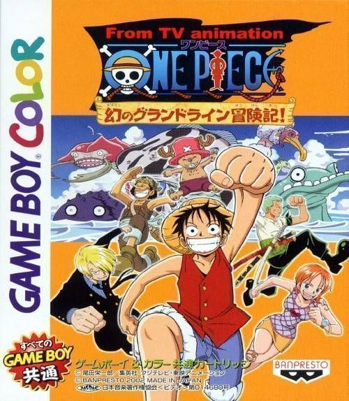 One Piece Grand Battle 2: Grand Theft Auto 2 ROM - Gameboy Color (GBC)