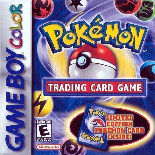 Pokemon trading card game rom gameboy color (gbc) | emulator. Games.