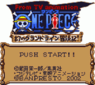 from tv animation one piece - yume no luffy kaizokudan tanjou! rom