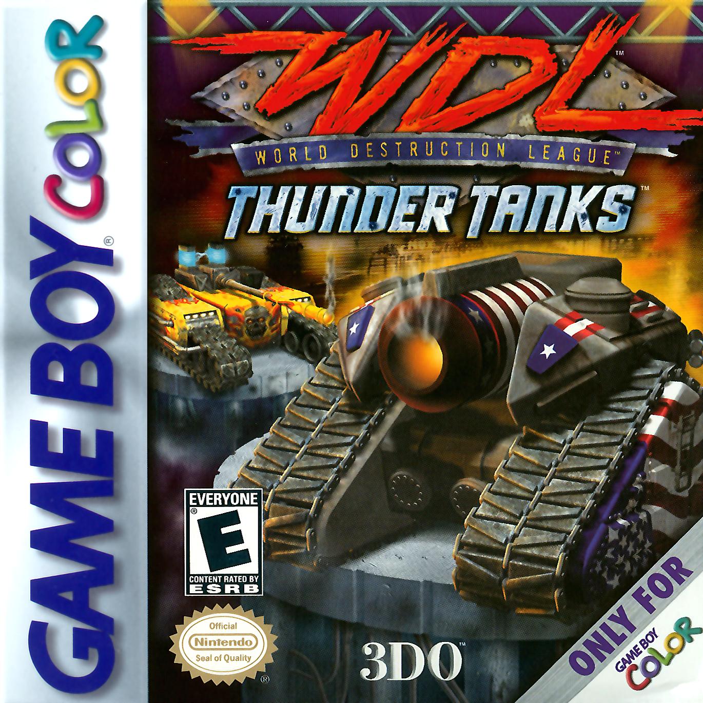 World Destruction League - Thunder Tanks