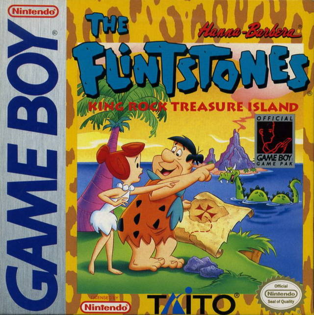 Flintstones, The - King Rock Treasure Island