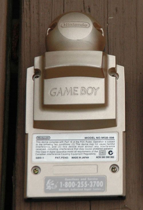 Gameboy Camera Gold - Zelda Edition