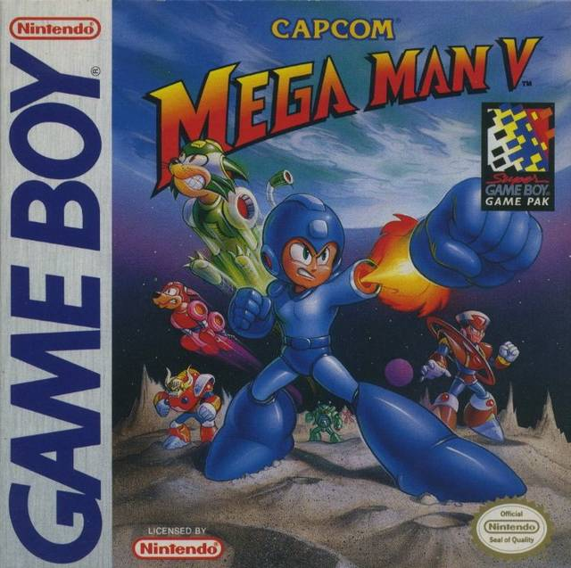 Mega Man V ROM - Gameboy (GB) | Emulator Games