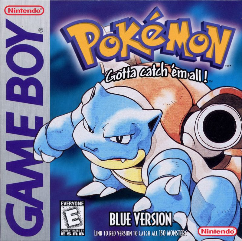 Pokemon - Blaue Edition