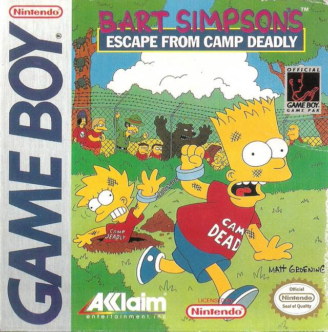 Simpsons, The - Escape From Camp Deadly
