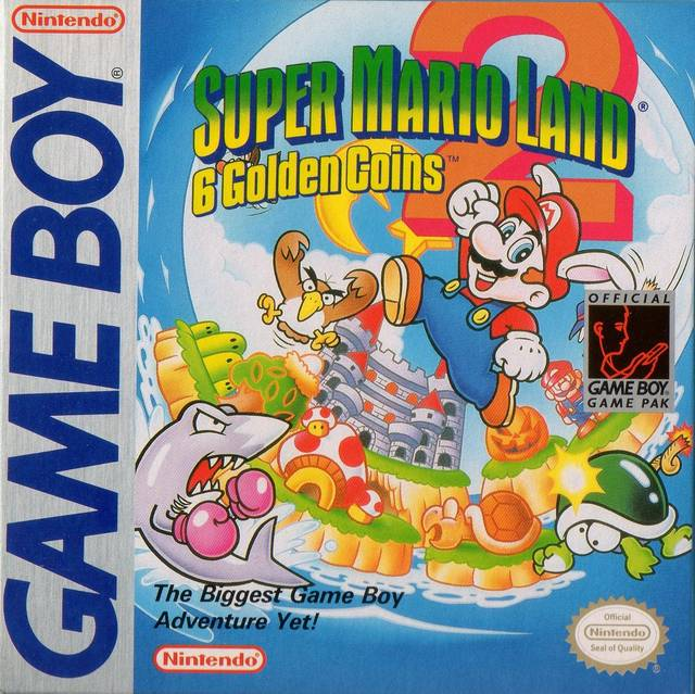 Super Mario Land 2 - 6 Golden Coins (V1 2) ROM - Gameboy (GB