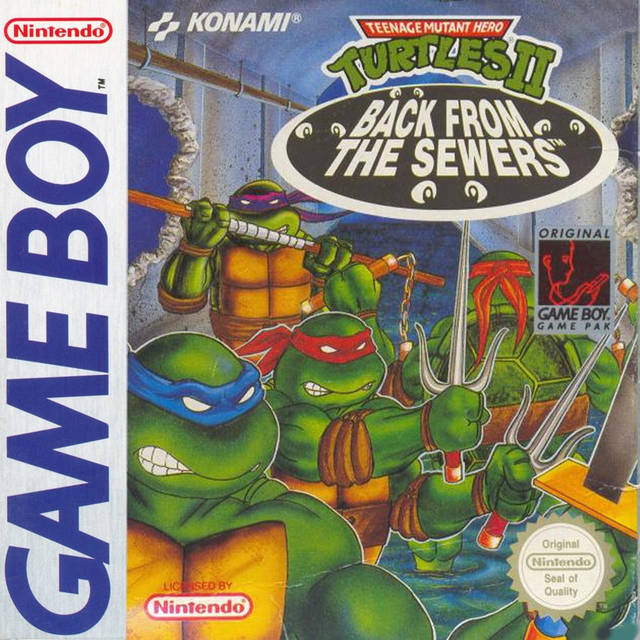 Teenage Mutant Hero Turtles - Back From The Sewers