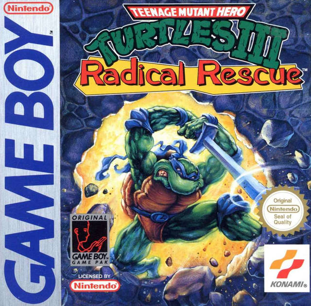 Teenage Mutant Hero Turtles III - Radical Rescue