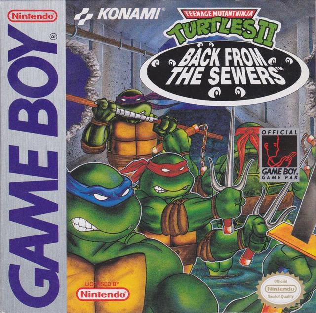 Teenage Mutant Ninja Turtles - Back From The Sewers