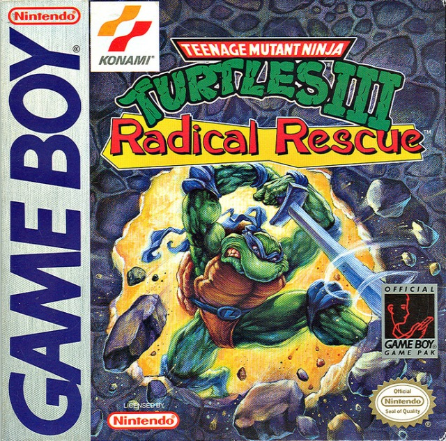 Teenage Mutant Ninja Turtles III - Radical Rescue