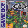 teenage mutant ninja turtles - back from the sewers rom