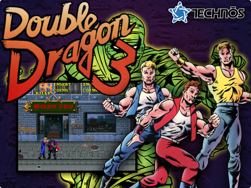 Double Dragon 3 ROM - MAME 037b11 (MAME) | Emulator Games
