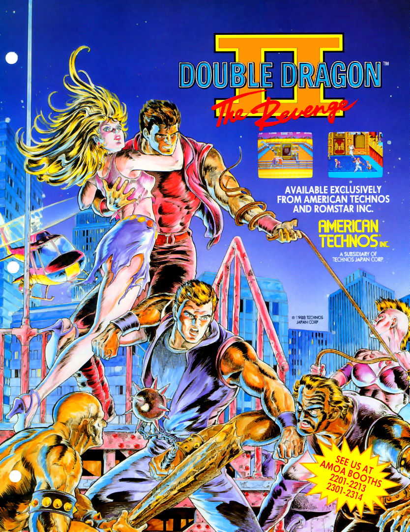 Double Dragon 2 (U)