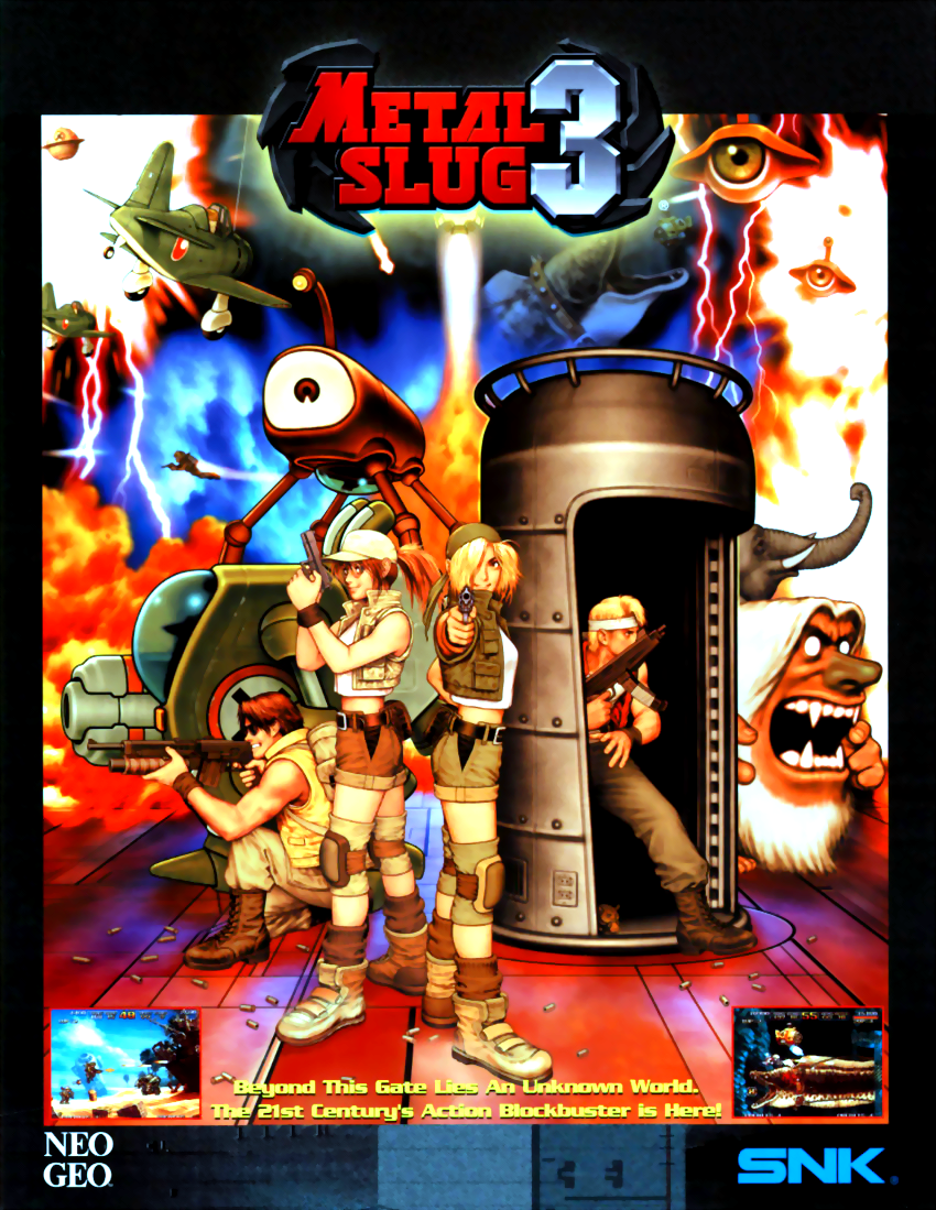 Metal Slug 3 ROM - MAME (MAME) | Emulator Games