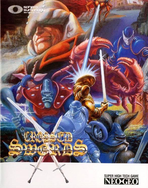 descargar crossed swords neo geo emulator