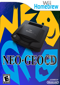 NeoCD-Wii 0.5