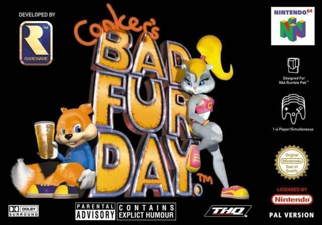 conker bad fur day gratisjuegos