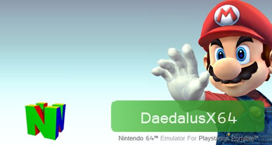 DaedalusX64 R1861 N64 Emulator for PSP - Nintendo 64