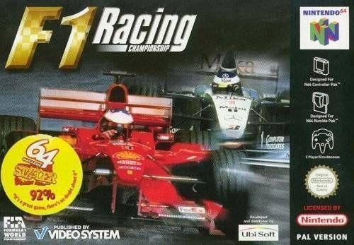 F1 Racing Championship Rom Nintendo 64 N64 Emulator Games