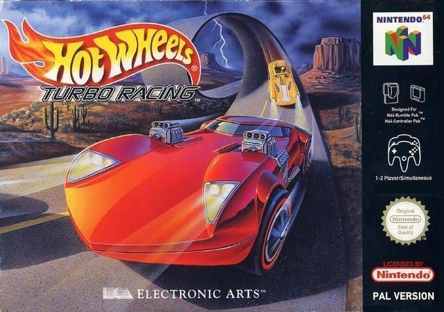 Hot Wheels Turbo Racing Rom Nintendo 64 N64 Emulator Games