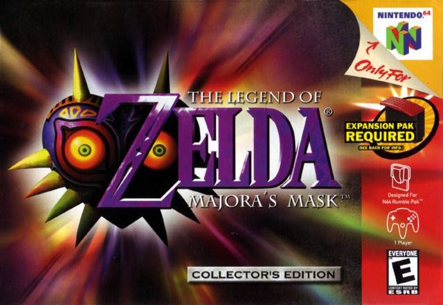 Legend Of Zelda, The - Majora's Mask [a1]