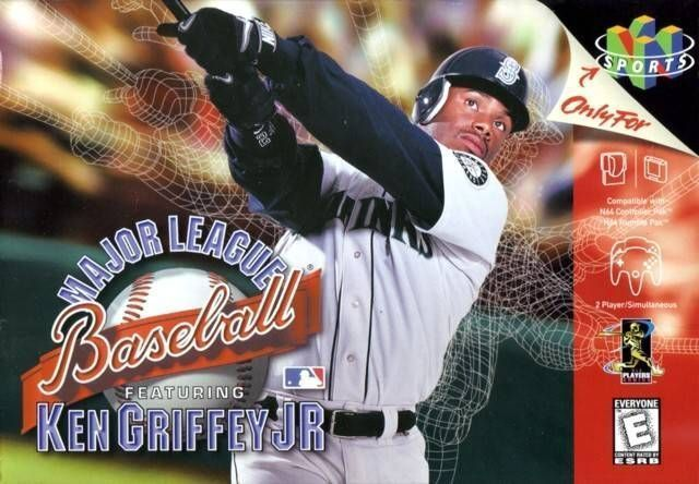 a1c22cf5d4 Major League Baseball Featuring Ken Griffey Jr. ROM - Nintendo 64 ...