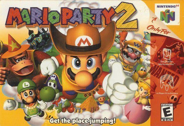 Mario Party 2 Rom Nintendo 64 N64 Emulator Games