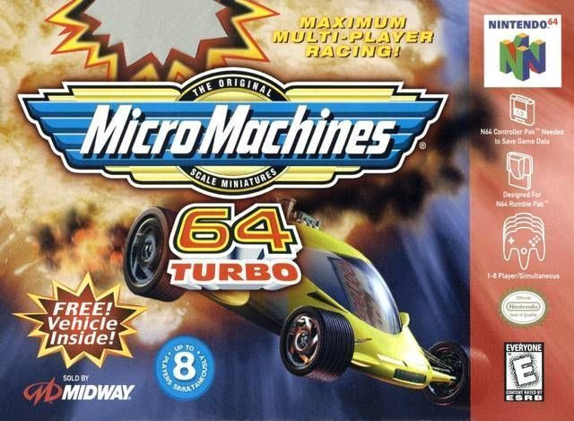 Micro Machines 64 Turbo