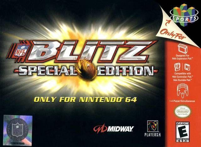 NFL Blitz - Special Edition ROM - Nintendo 64 (N64) | Emulator Games