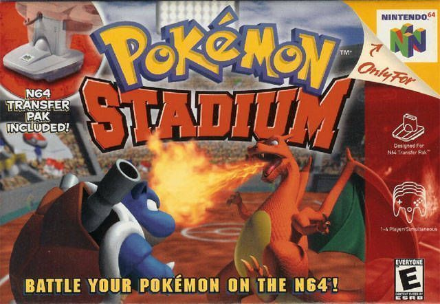 Pokemon Stadium V1 1 Rom Nintendo 64 N64 Emulator Games