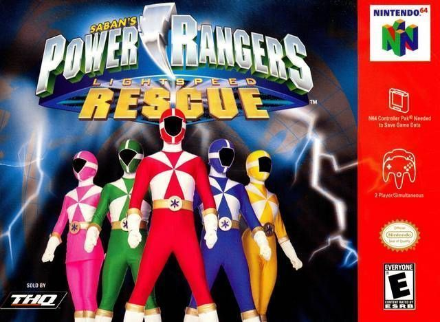 Power Rangers - Lightspeed Rescue
