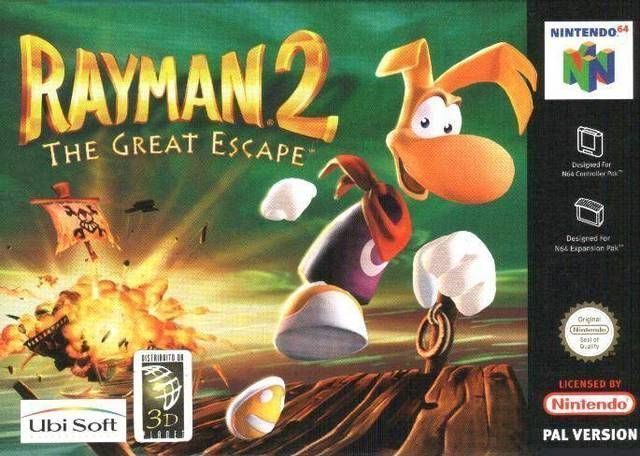Rayman 2 The Great Escape Rom Nintendo 64 N64 Emulator Games