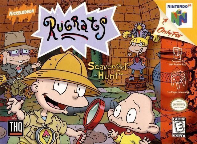 Rugrats - Scavenger Hunt