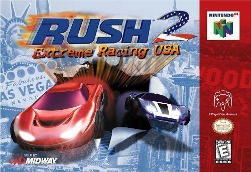 rush 2 n64 rom