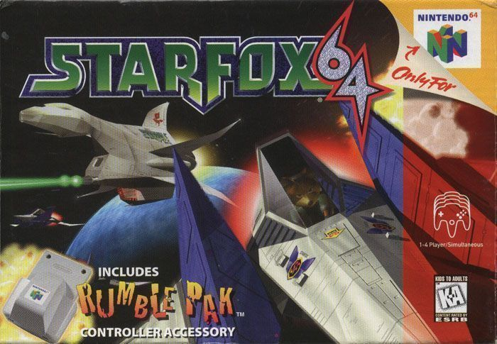 Star fox 64 for wii nintendo game details.