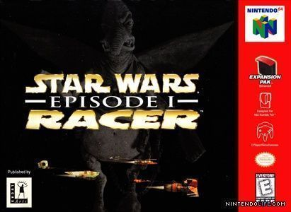 star wars episode i racer rom nintendo 64 n64 emulator games